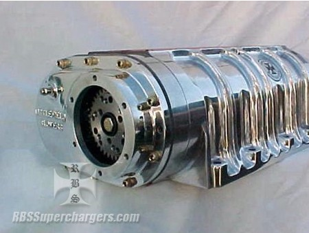 Littlefield Polished Competition Blower 8-71 (1200-0005)
