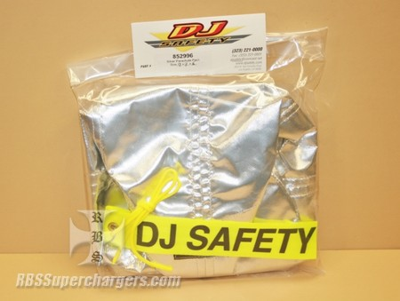 "DJ Silver Pro Parachute Pack 9"" x 9"" (7008-00AS)"