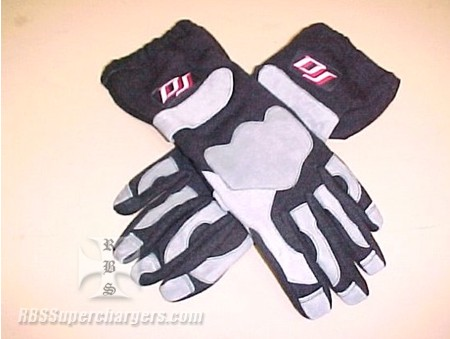 DJ Driving Gloves SFI 3.3/5 Black (1210-0048)