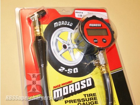 Moroso Digital Tire Pressure Gauge 0 To 15 Pounds (2700-0108)
