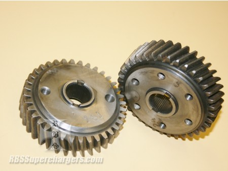 "OUT OF STOCK Steel Blower Gear Set Roots 1.125"" shafts (1300-0025)"