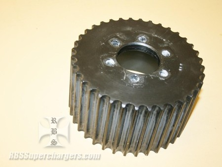 Used 14mm 36 Tooth Blower Pulley Alum. HTD (7001-1436A)