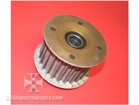 "Used 14mm HTD Toothed Mag Idler Pulley 2.750"" (7002-0017C)"