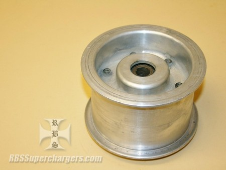 "Used 3.00"" Large Dia. Billet Alum. Idler Pulley (7002-0014)"