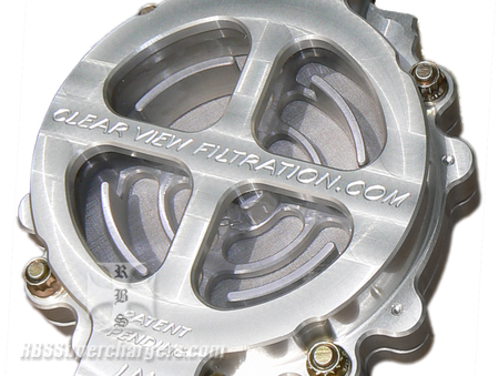 "Clear View 4.00"" Transmission Filter Assm. (2600-0059F)"