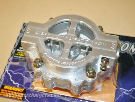 "Clear View 4.00"" Oil Filter Assm. -16 Dry Sump (2600-0058S)"