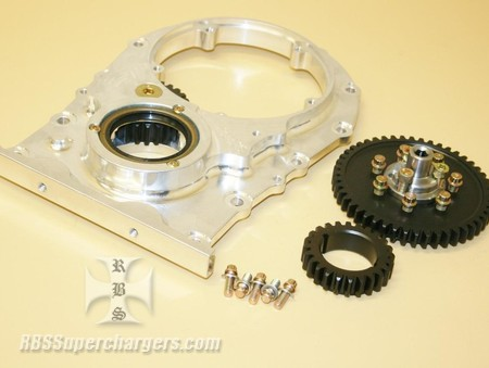 "KB Olds/ New Century Gear Drive Assm. Billet .250"" Raised Cam (2400-0004F)"