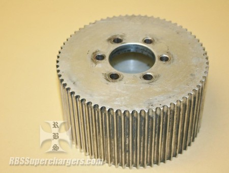 Used 8mm 56 Tooth Blower Pulley Alum. Htd (7001-0856)
