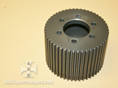Used 8mm 49 Tooth GT Blower Pulley Alum. (7001-0849GT)