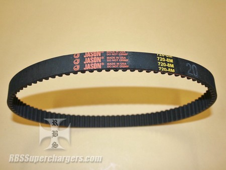 720-8m-20 Rubber Belt (7007-0031)
