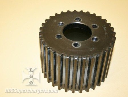Used 14mm 31 Tooth GT Alum. Blower Pulley (7001-0031GT)