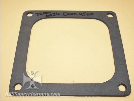 "Carb Base Gasket .125"" Thick 4150/4500 (2200-0026)"