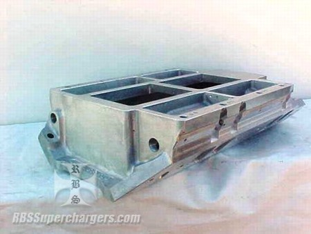 "Blower Manifold LFD Competition BBC Std. Deck 9.80"" (1100-0016C)"