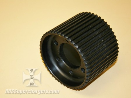 Used 8mm 46 Tooth Blower Pulley Alum. GT Offset (7001-0846)