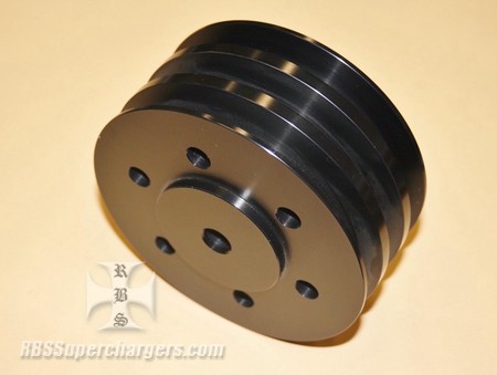 OUT OF STOCK BBC Triple Groove V-Pulley (1698-0009)