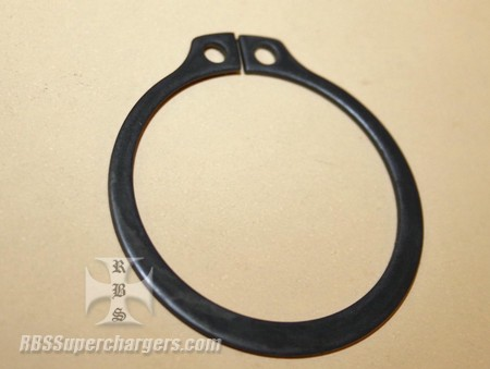 "8.00"" Ball Bearing Smooth Snout Driveshaft Snap Ring RCD (1400-0010T)"