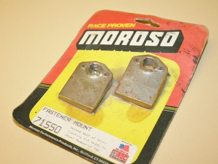 Used Moroso Quick Fastener Mounting Brackets #71550 (7011-0002Q)