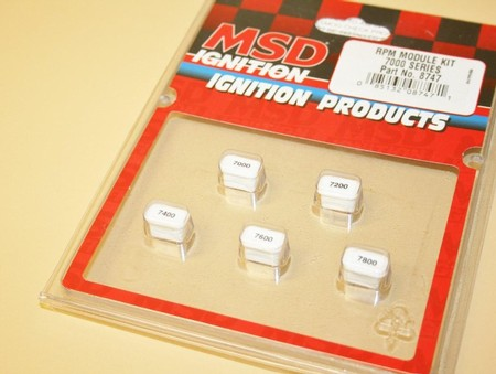 Used MSD RPM Module Kit #8747 7000-7800 (7010-0055D)