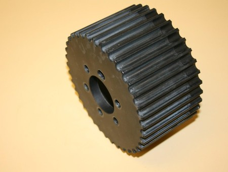 Used 14mm 37 Tooth HTD Blower Pulley Alum. (7001-1437)