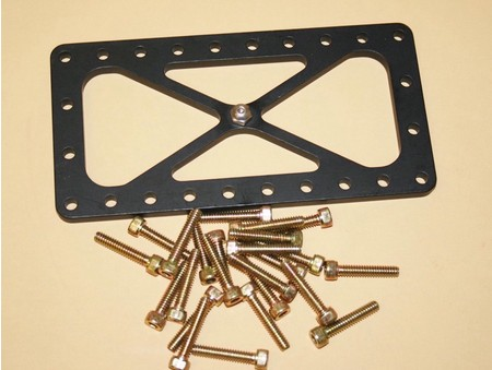Burst Panel Frame Inner W/Support Bolt And Nut (2000-0009)